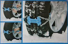 Anfahrhilfe Schnee  Eis Schneekette Reifen Spikes Schneeketten schnell montierba