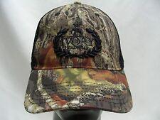 IVORY HEADWEAR - CAMOUFLAGE - ADJUSTABLE STRAPBACK BALL CAP HAT
