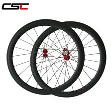 25mm Width U shape 50mm Clincher SAT carbon bike wheels 1510g only