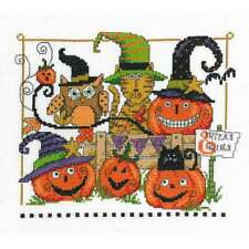 Boo Friends Counted Cross Stitch Kit 9