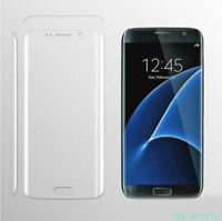 Full Coverage Tempered Glass Screen Protector for Samsung Galaxy S7 Edge CLEAR