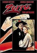 Zorro The Gay Blade DVD George Hamilton RARE MOVIE - REGION 1 - BRAND NEW