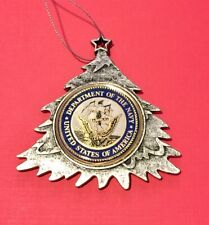 UNITED STATES NAVY SEAL USN CHRISTMAS TREE ORNAMENT PERSONALIZED & SHIP FREE