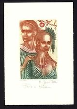 16)Nr.178- EXLIBRIS- Paris und Helena - Hana Capova - Auflage: 65/100