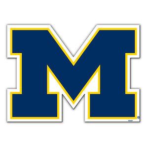 NCAA Michigan Wolverines 12 inch Auto Magnet Die-Cut Logo by Fremont Die