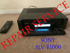 Repair service for Sony SLV-R1000 power supply