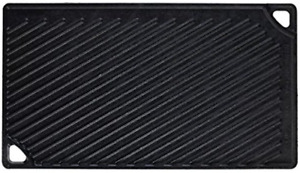HOT Lodge Pre-Seasoned Cast Iron Reversible Grill/Griddle (LDP3) Free