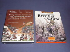 Teaching Co Great Courses DVDs      LIVING HISTORY : Great Events    new + BONUS