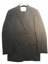"""$1500 Hugo Boss Navy Blue Suit 38R Jacket Trousers 30"""" W selection tailored line"""