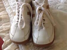Steve Madden Lace-Up Casual Beige & Tan Leather & Suede Shoes Size 12