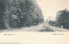 BAD SODEN – Konigsteiner Strasse – Germany – udb (pre 1908)