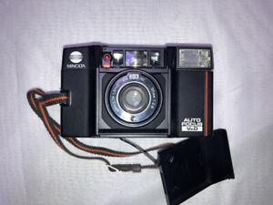 Film Camera MINOLTA AF-Sv Quartz The first generation TALKMAN 1983 no.4005037