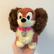 Disney Store Fifi Dog Mickey Mouse Club House Pluto's Girlfriend Soft Plush Toy