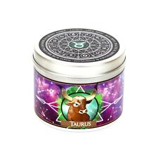 Taurus zodiac candle - Taurus star sign candle  - zodiac gift - Taurus astrology