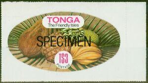 Tonga 1978 3p Specimen SG689bs Fine MNH