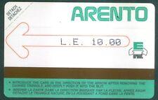 TELECARTE N° 2 D'EGYPTE EGYPT- Urmet - D2   - Mint -NEUF -1986-TRES TRES  RARE