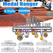 400mm Stainless Steel Medal Holder Medal Hanger Display Wall Mount Up 36 Medals
