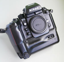 Professional Nikon F4E 35mm Film Camera Body with Nikon MB-23 Battery Pack