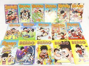 Job Lot 16 Beano Annuals 2002-2021--.09,10,15,17 missing.