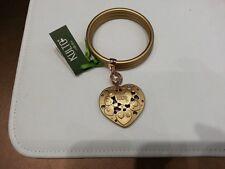 Bracciale Kulto Jewels Dorato Rigido Cuore Bracelet Heart Golden