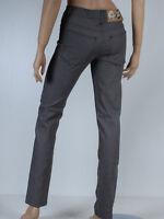pantalon noir satiné slim taille haute femme CHEAP MONDAY   taille XS T 36