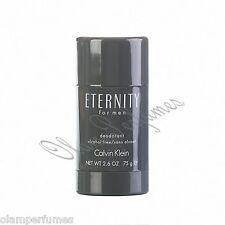 Calvin Klein Eternity for Men Alcohol Free Deodorant Stick  2.6oz 75g * New *