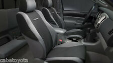 TOYOTA TRD TACOMA FRONT SEAT COVERS 05 06 07 GRAPHITE LEFT AND RIGHT