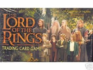 Lotr TCG/CCG Fellowship Of The Ring Booster Box Factory Sealed