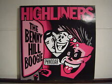 HIGHLINERS THE BENNY HILL BOOGIE PSYCHOBILLY 12EP