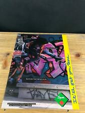 1989 VINTAGE 8X11 PRINT Ad FOR Fender Squier HM GUITARS SKATEBOARDING+GRAFFITI