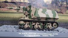 1/43 German 10,5cm Le.FH18 (SFL) Auf 39H(F) Panzer Tank military France 1944 WW2