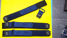 3pcs original swiss made swatch leather band blue 17mm #S002# for swatch watch