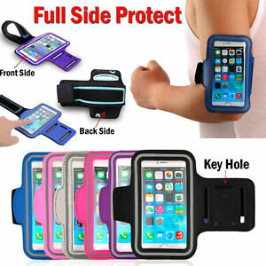 Sports Arm Band Mobile Phone Holder Bag Running Gym Armband Exercise for iPhone