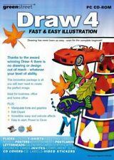 DRAW 4 - Computer Art Illustration & Design - DTP - Graphic Designing PC (New)