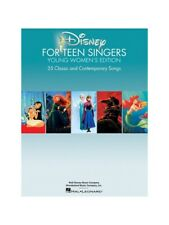 Disney For Teen Singers  Young Womens Edition Learn to Sing Voice MUSIC BOOK