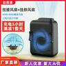 Mini Portable Waist Clip Neck Hanging Air Cooling Fan Rechargeable Lazy USB U1O1