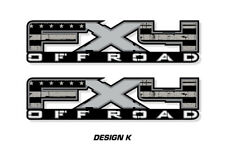 """FX4 Off Road Truck Bed Decal Set For Ford F150 09-14 Vinyl Stickers 17""""X4"""" SUBDU"""