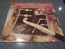 "Candide ""Hungarian Dances For Harpsichord"" SEALED NM LP"