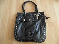 KOSSBERG schöner großer Shopper Handtasche schwarz  HMI215