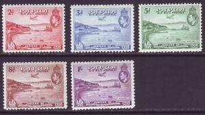 Papua 1938 SC C5-C9 MH Set Air Mail