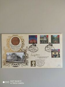1997 - Post Offices - Bicentenary of the Copper Penny - signed Lord Kingsdown