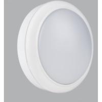 Mini White LED 15W Flush Bulkhead Light Ceiling or Wall Bulkhead IP65 Energy