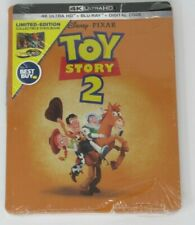 New! Toy Story 2 Steelbook (4K Ultra Hd + Blu-ray / Digital) (Read) Dent