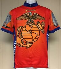 Mens United States Marines Primal Wear Racing Cycling Jersey Large Semper Fideli