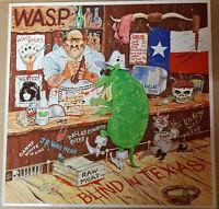 W.A.S.P.-Blind In Texas-Maxi-Vinyl-Capitol Records-K0602008666-Single 45 NL 1985