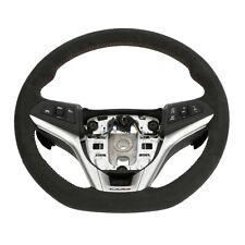 OEM GM Steering Wheel Black Suede Red Trim 2012-2015 Camaro Z28 ZL1 SS 22896548