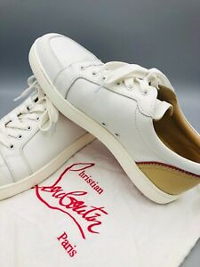 Leather Louboutin shoes men