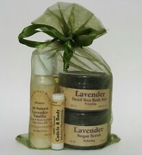 The Elder Herb Shoppe 5 Piece Bath & Body Care Gift Set - Lavender All Natural
