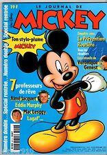 LE JOURNAL DE MICKEY n°2411/2412 ¤ 1998 ¤ AVEC LE POSTER DUCOBU