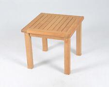 Square Teak Wood Side Table